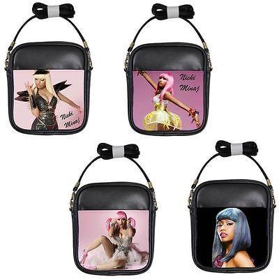 Nicki Minaj Black Pink Sling Clutch Bag Handbag 4 Designs Available