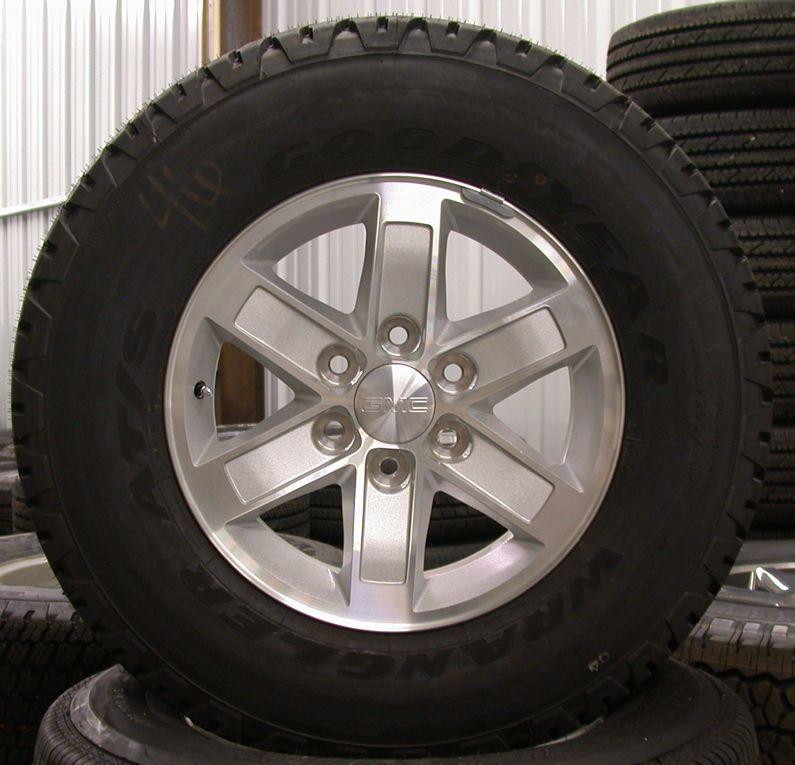 2013 GMC Sierra Yukon 17 Wheels Rims Tires Chevy Silverado Suburban
