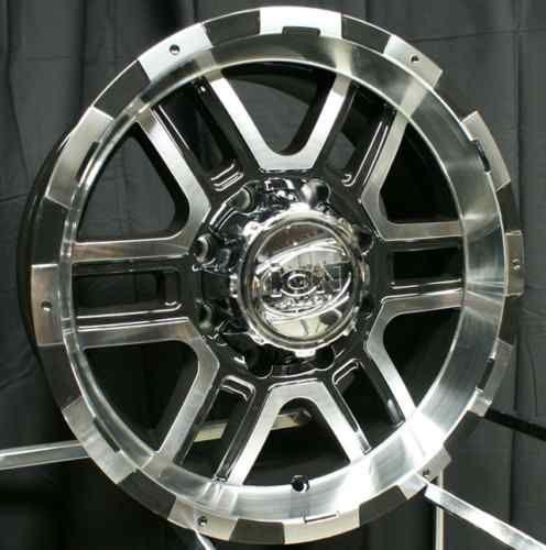 20 ion 179 Wheels Rims Black Ford F250 F350 Excursion