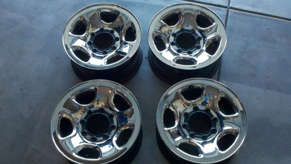 2012 Dodge RAM Chrome Clad Wheels Rims