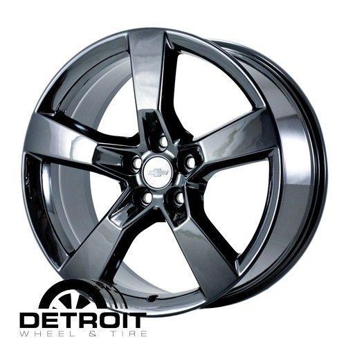 Chevrolet Camaro 2010 2011 PVD Black Chrome Wheels Rims Factory 5448