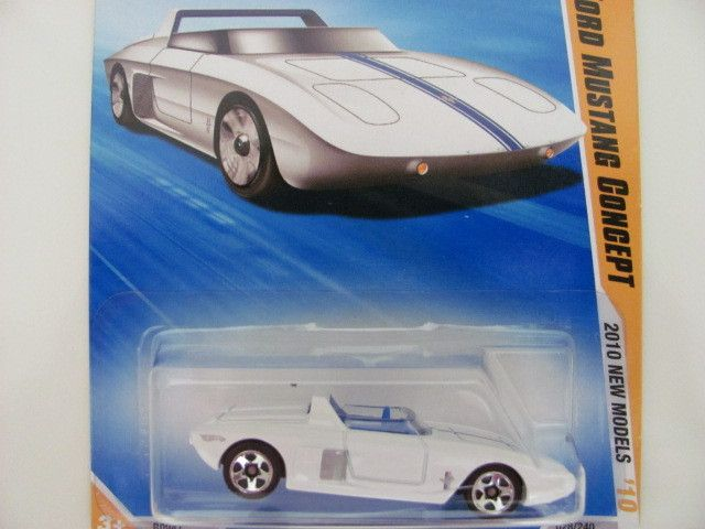 Hot Wheels 2010 28 44 62 Ford Mustang Concept
