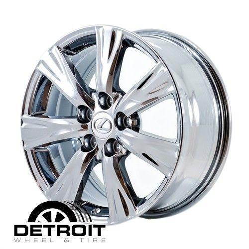 GS350 GS460 2008 2011 PVD Bright Chrome Wheels Rims Factory 74209