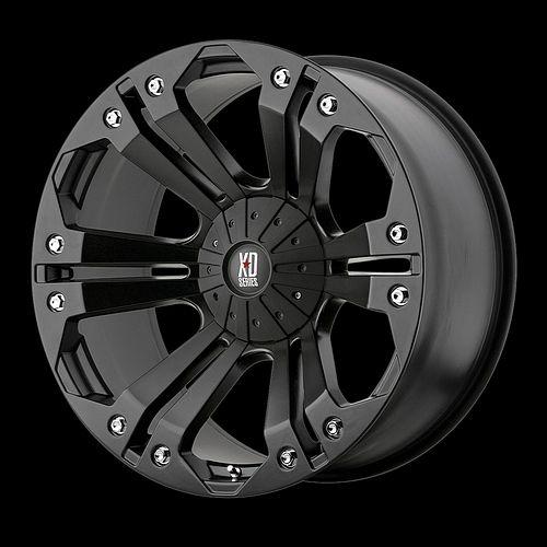 18 inch Black Wheels Rims Ford F 250 350 F250 F350 8x6 5 8 Lug XD