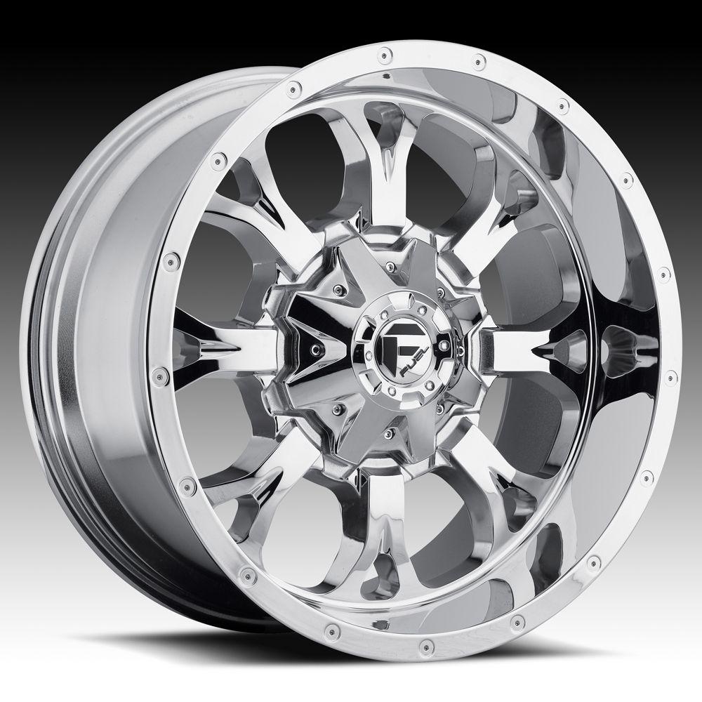 20x12 Krank XD 20 inch Chevy Ford Dodge Chrome Wheels Rims Set