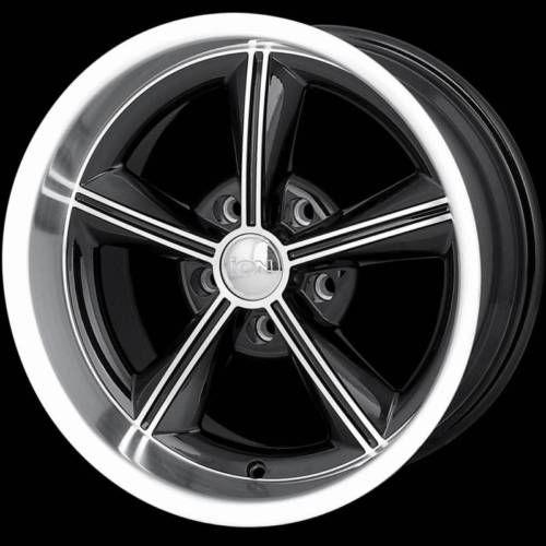15 ion Wheels Rims Black GMC Blazer Jimmy S10 Sonoma