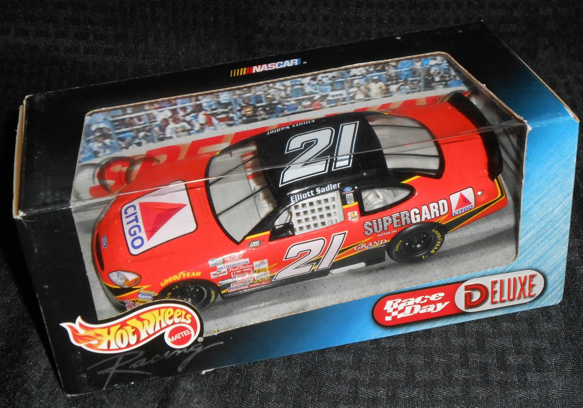 Elliott Sadler #21 Citgo Hot Wheels Ford Taurus 124 2000 NASCAR Die