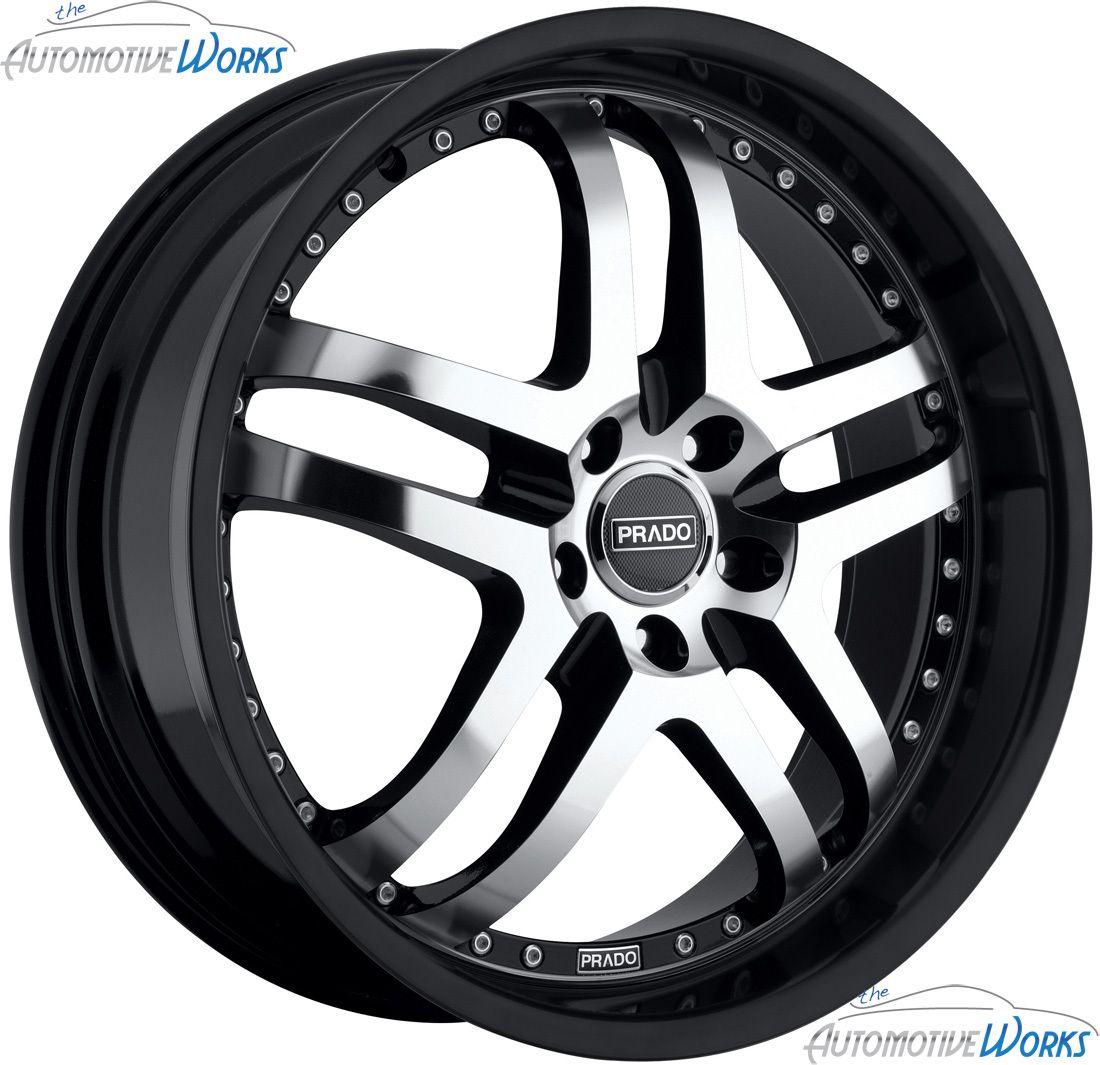 Dante 5x114 3 5x4 5 25mm Black Machined Wheels Rims inch 18