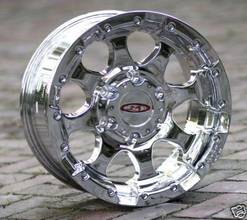 18 inch Chrome Wheels rims Moto Metal 955 Chevy Gmc 1500 trucks 6 lug