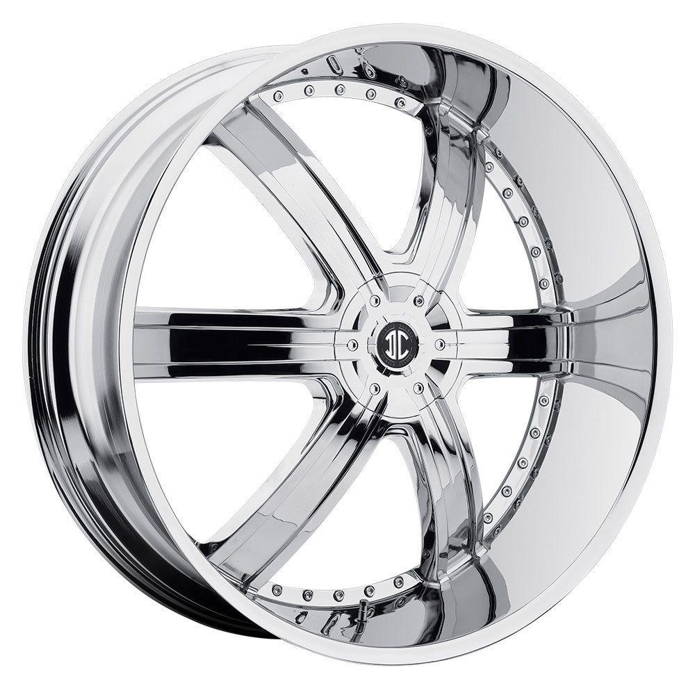 26 2Crave #4 Chrome Wheels Rims Tires Chevy Buick Impala Donk 877 955