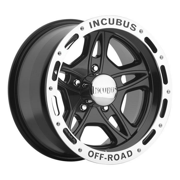 15 inch Incubus 511 Black Wheels Rims Ford Ranger 5x4 5