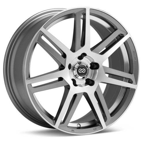 18 Enkei Aletta Rims Wheels Silver 18x7 5 5x114 3 45