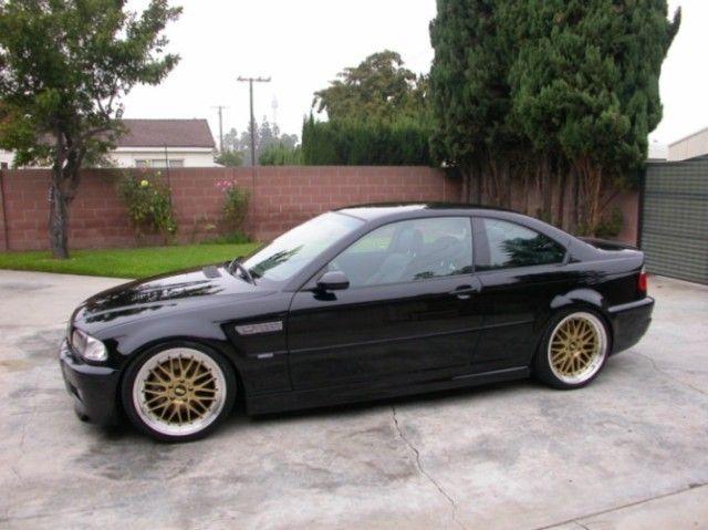 18x8 9 Gold Machined Lip LM Style Rim Wheel Fit BMW 3233 325 328 330