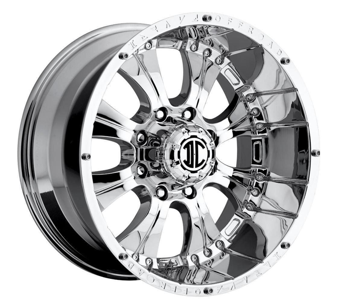 20 inch 2CRAVE NX 1 Chrome Wheels Rims 5x5 5 Dodge RAM 1500 Ford