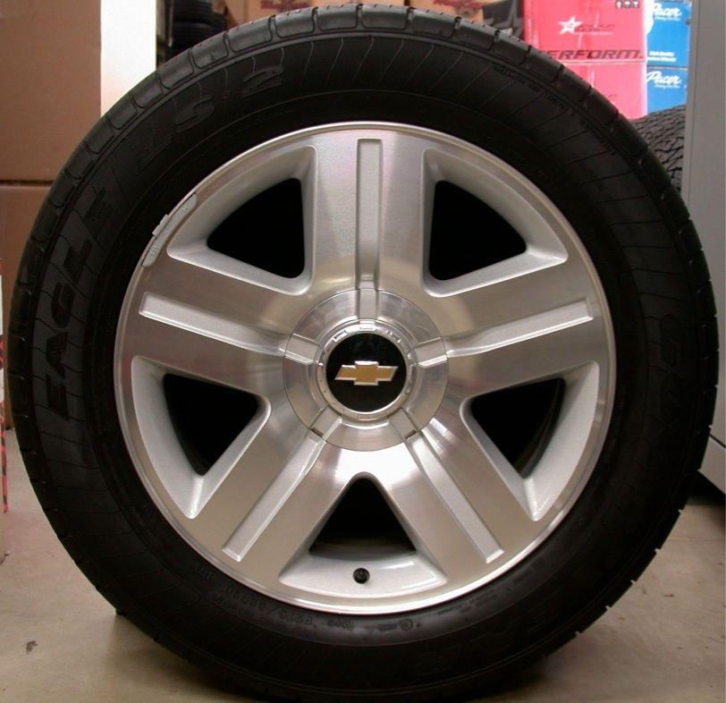 Chevy Z71 Z 71 Silverado Tahoe Suburban Avalanche 20 Wheels Rims Tires