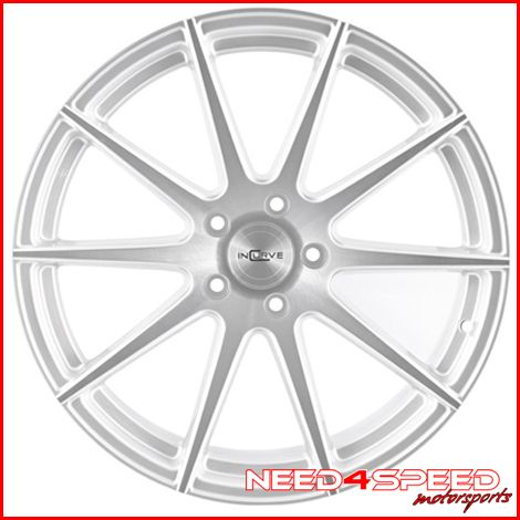 E89 Z4 Incurve IC S10 S10 Concave Silver Staggered Wheels Rims