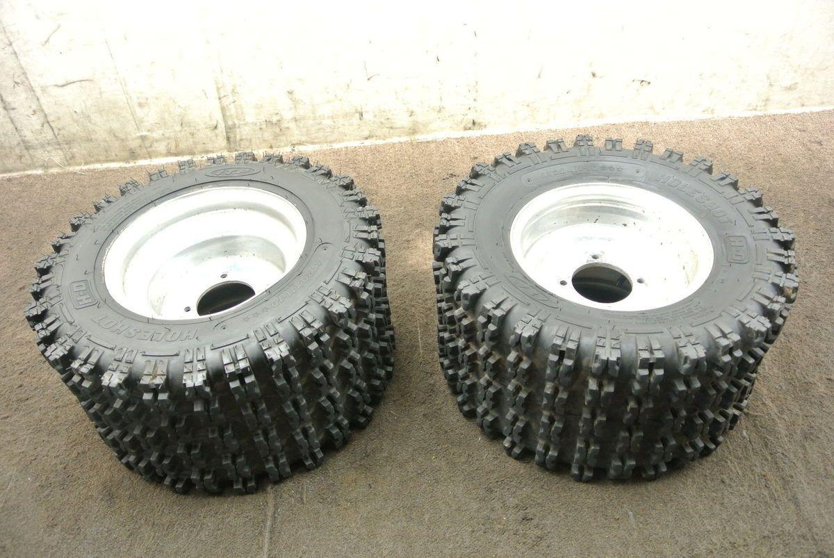 1989 89 Yamaha Banshee YFZ350 YFZ 350 Rear Wheel Set Rims Tires Wheels