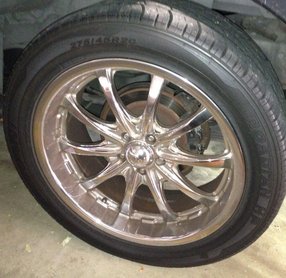 Boss Motorsports Series 307 Chrome Wheels Rims Ford Explorer