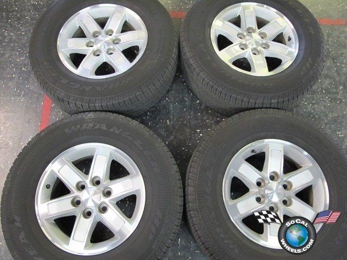 Four 99 12 GMC 1500 Sierra Yukon Denali Factory 17 Wheels Tires Rims