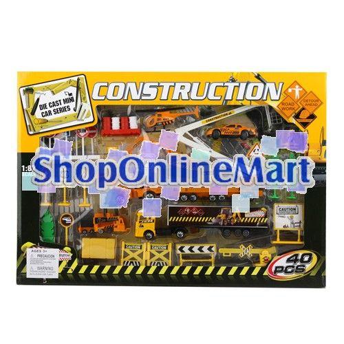 Die Cast Construction Mini Toy Car Series 1 87 Scale