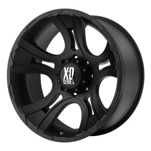 17 inch 17x9 XD Matte Black Wheels Rims 6x135 F150 Expedition