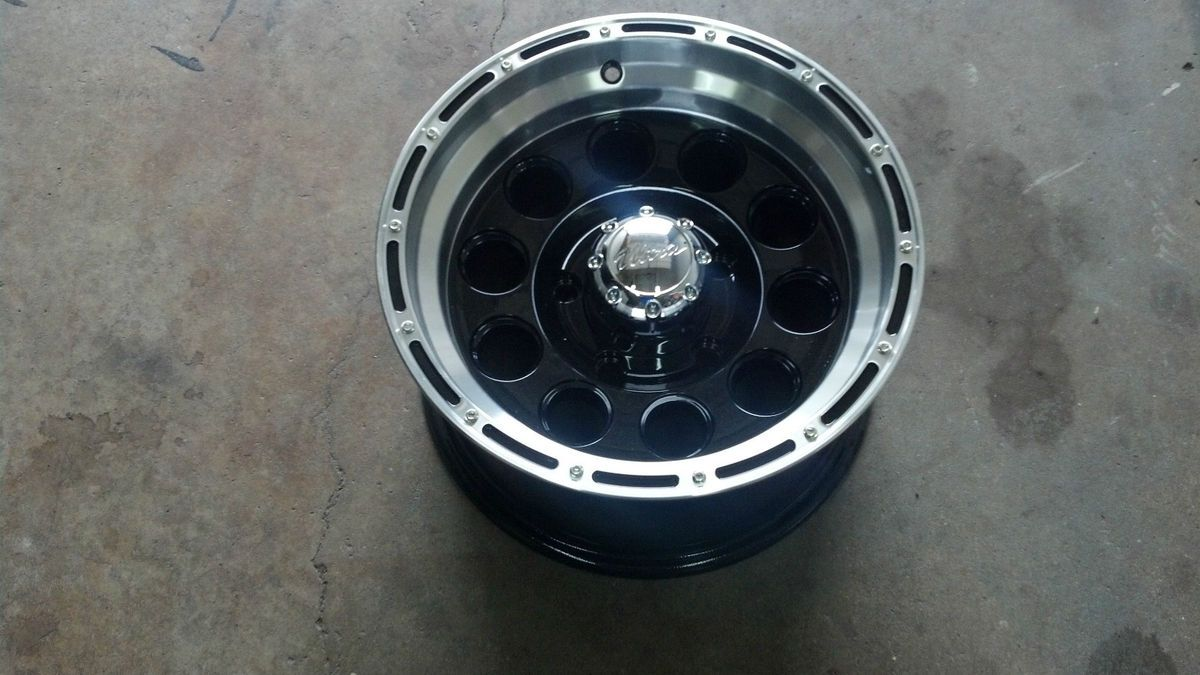 15 15x8 5x5 5 5 Lug Black Wheel Rim 1855885 Dodge Ford 5x139 7