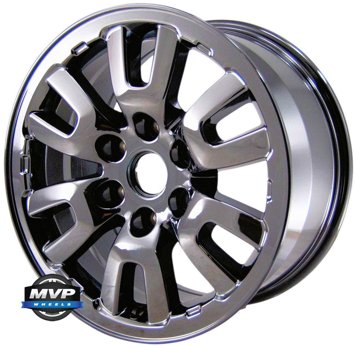 Factory 17 17 Ford F 150 Black Chrome Raptor Wheel Rim 3831 PVDRN Set