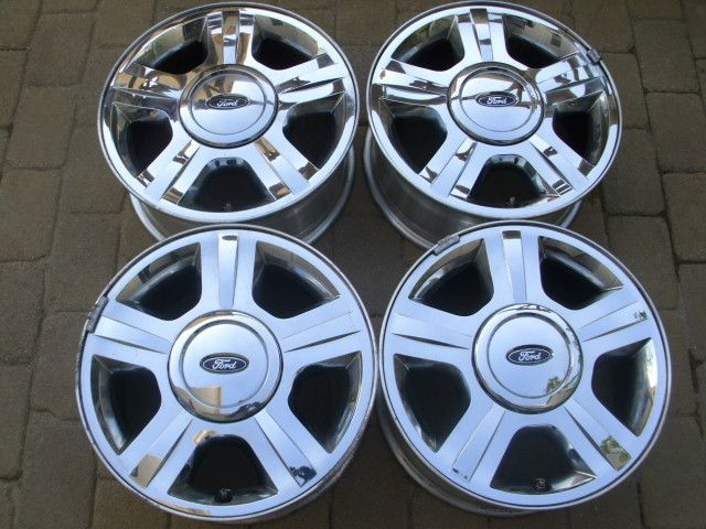 Ford Expedition F150 Chrome Alloy Wheels Rims w TPMS Sensors