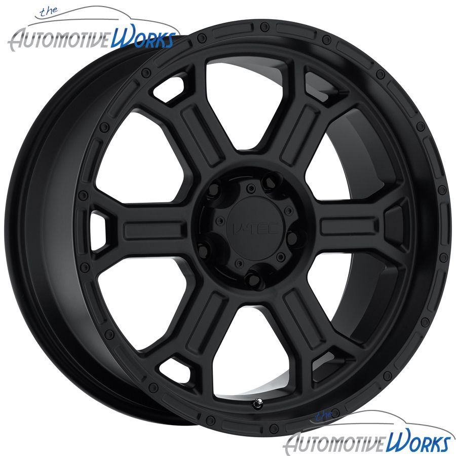 Tec Raptor 5x139 7 5x5 5 15mm Matte Black Wheels Rims inch 17