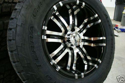 18 inch Chevy Silverado Wheels Rims 6x5 5 285 60 Tires