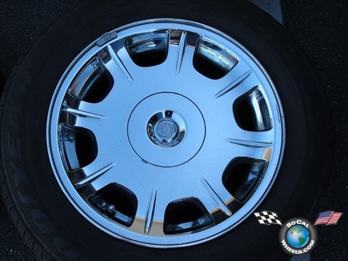 Chrysler 300 Factory 17 Chrome Clad Wheel Tire OEM Rim 2243 04782490AA