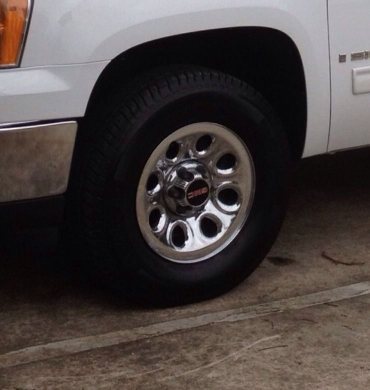 Chevy Silverado GMC Sierra 17 Steel Crome Wheels Rims