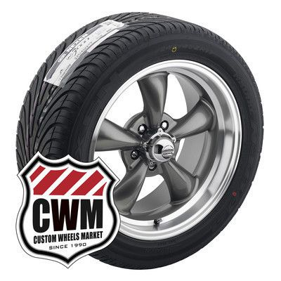 17x8 17x9 Gray Wheels Rims Tires 235 45ZR17 275 40ZR17 for Ford