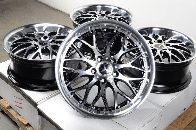 17 Wheels Rims Mercedes Benz 5x112 E320 E350 E550 SLK300 SLK350 S350