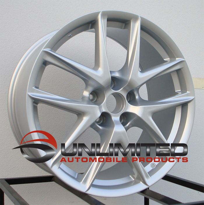 18 LFA Style Silver Wheels Rims Fit Lexus ES IS250 IS300 is350 Is F