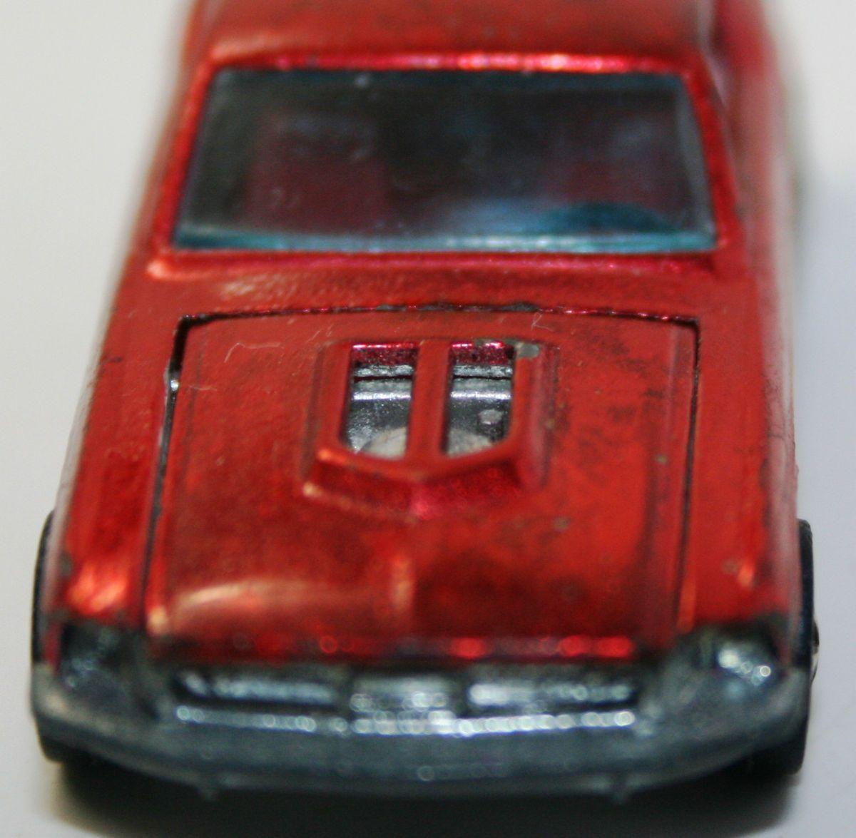 Scoop Custom Mustang Mattel Hot Wheels Redline Original No Rese