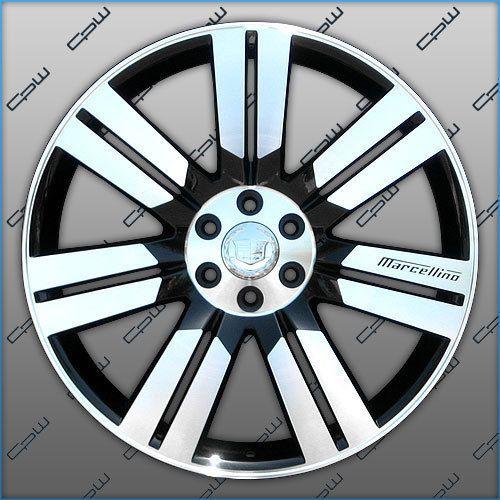 New Cadillac Escalade 24 inch Wheels Rims ESV Ext Black Machined Face