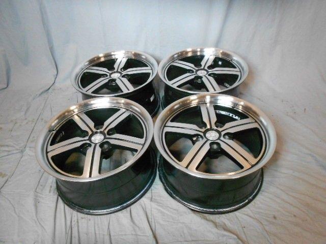 Used 18x9 5x114 3 5 114 3 Bolsa Black Machined Face Wheels Rims