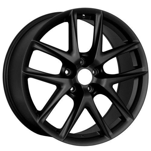 19 LFA Style Matte Black Wheels Rims Fit Nissan 350Z 370Z Altima