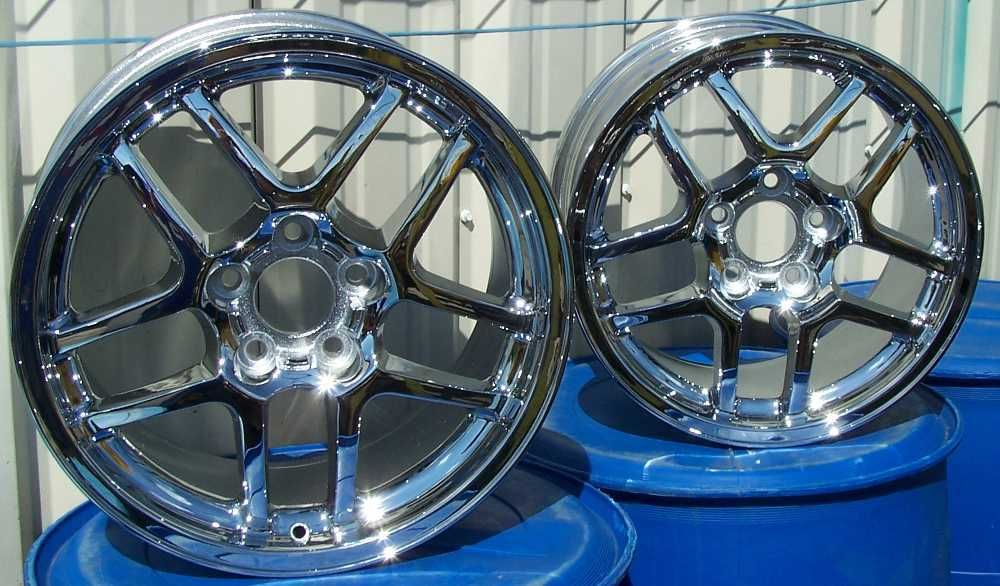 New set of staggered chrome wheels rims fits 2002 2004 Chevrolet