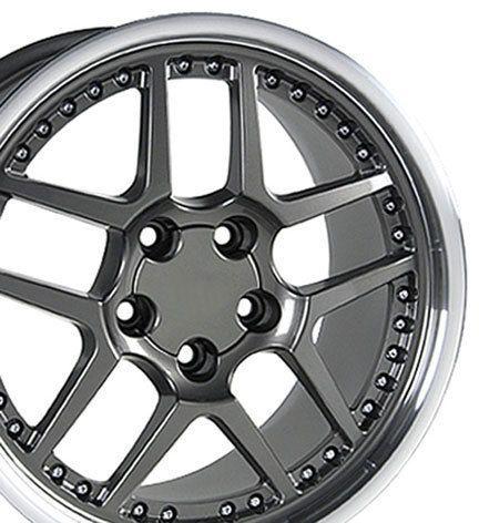 17 Rims Fit Camaro Corvette Z06 Style Wheels Set